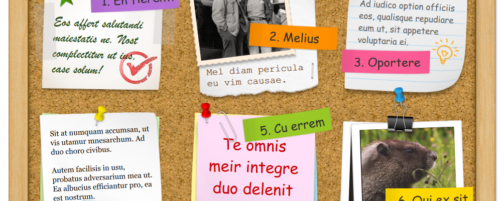 Bulletin Board Interaction – In-Page Popups