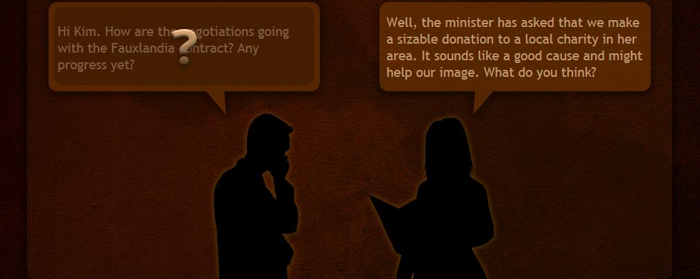 Character Dialog Interaction