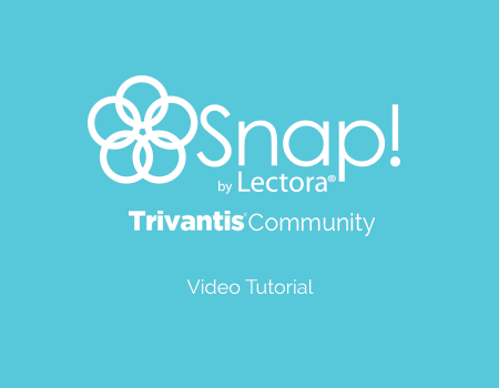 Snap Trivantis Community