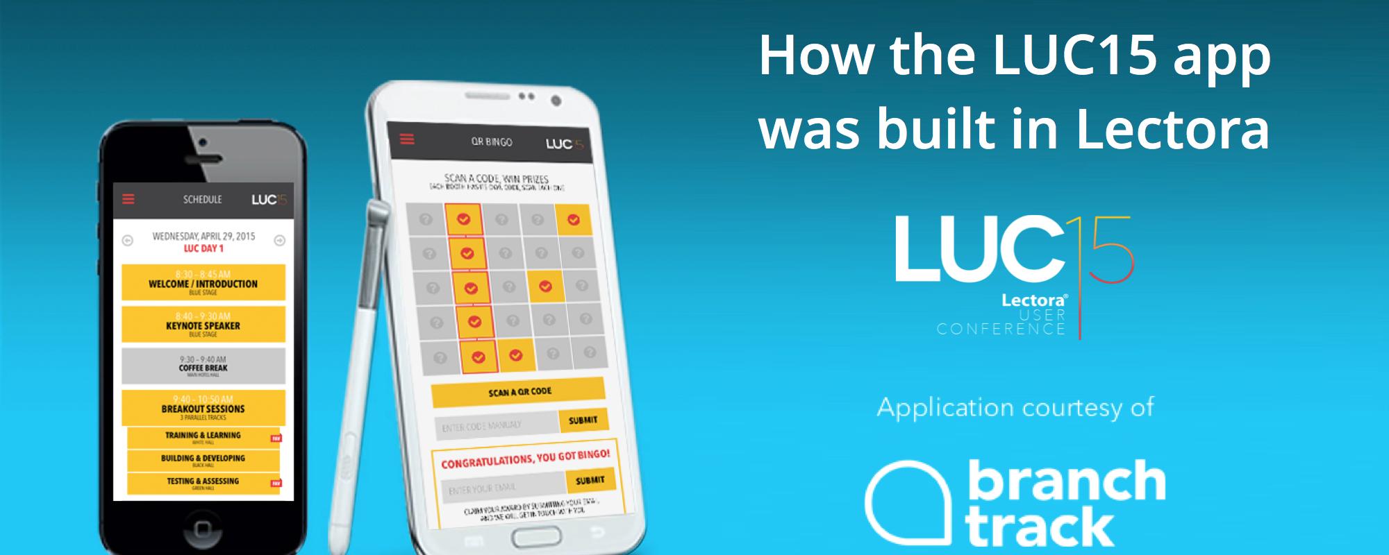 Lectora User Conference App (2015)