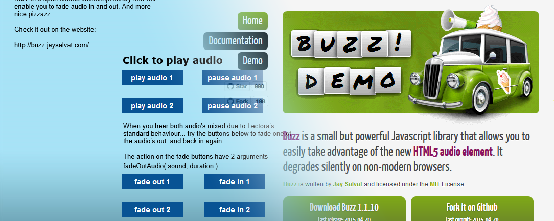 Fade audio in Lectora