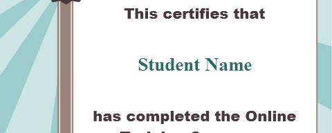 Custom RCD Certificate