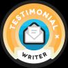 testimonial writer