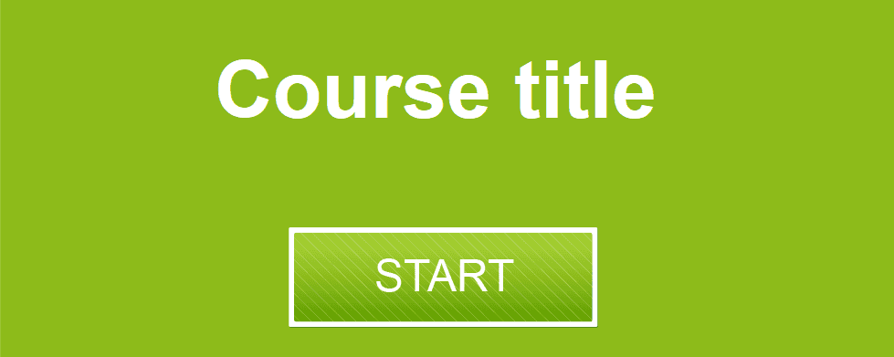 Lectora Course Player Template With 16 Slide Layouts