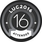 LUC16 Attendee