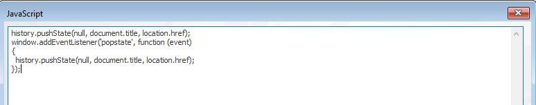Disable Browser Back Button - Trivantis Community
