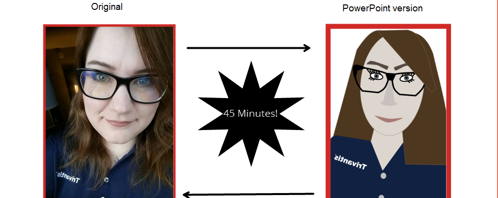Contest 21: Self Portrait in PowerPoint