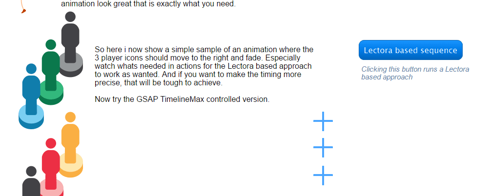 Sequencing with GSAP TimelineMax